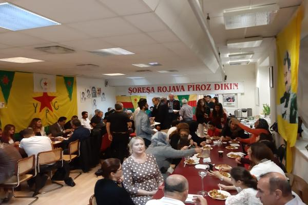 Kurds in Sweden celebrate in founding anniversary of PYD
