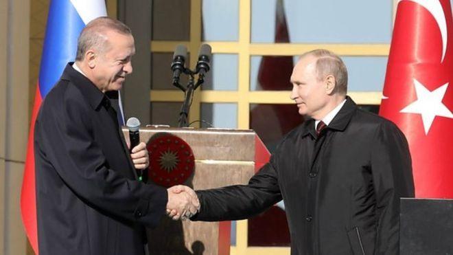 Putin-Erdogan summit ended with agreement to establish demilitarized area in Idlib