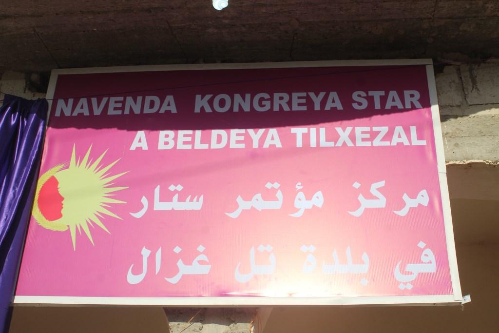 Kongra Star opened center in Kobanî