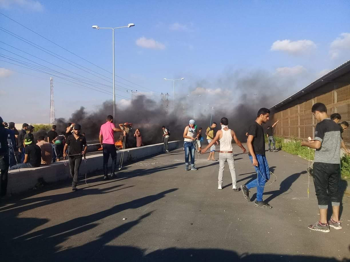 2 killed in clashes north of Gaza