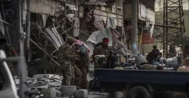 Violations ,looting in Afrin ... ...malicious policies to truncate it -1