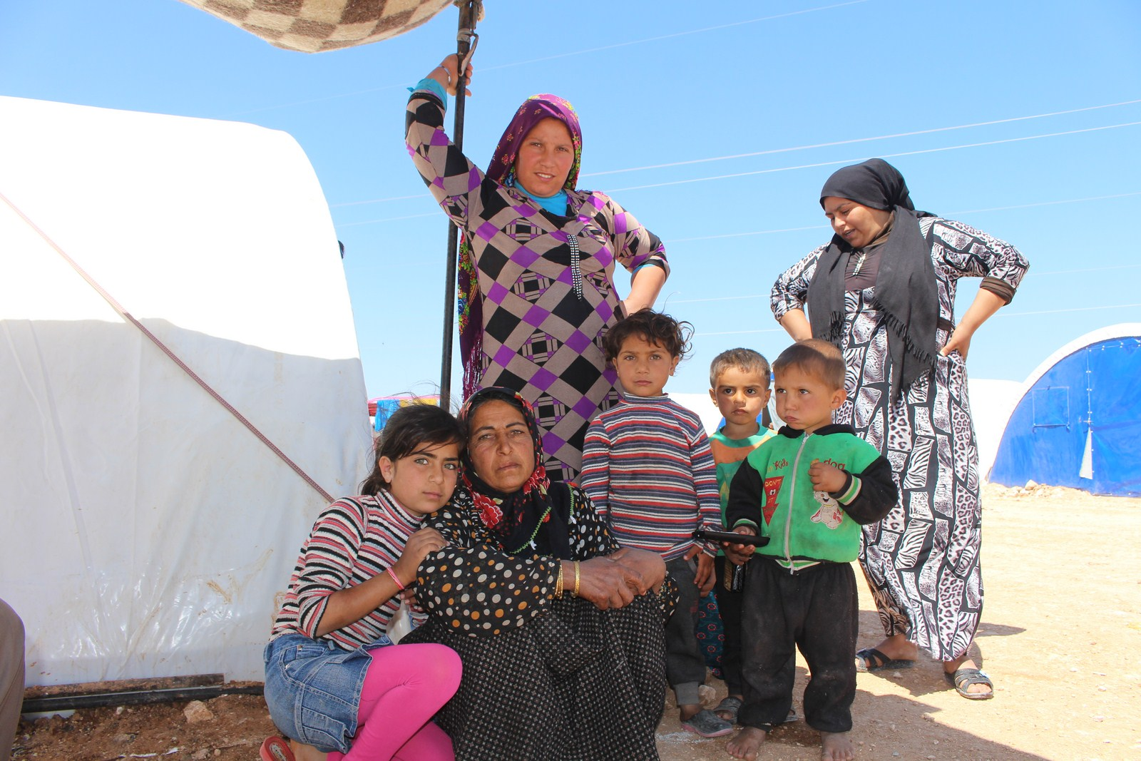 Afrin people in al-Asr camp: Afrin will win, waiting to return to Afrin