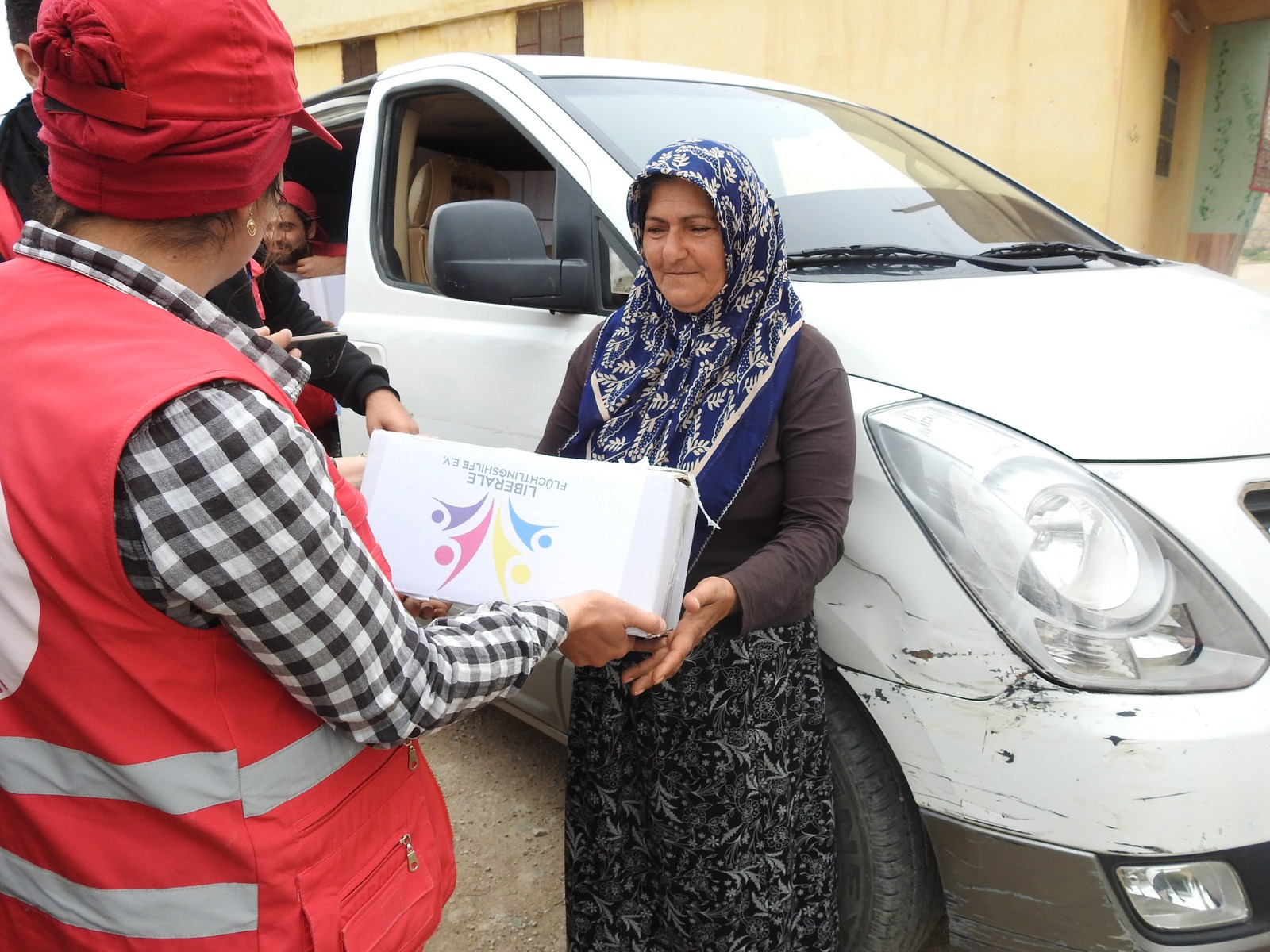 Kurdish Red Crescent in coordination with