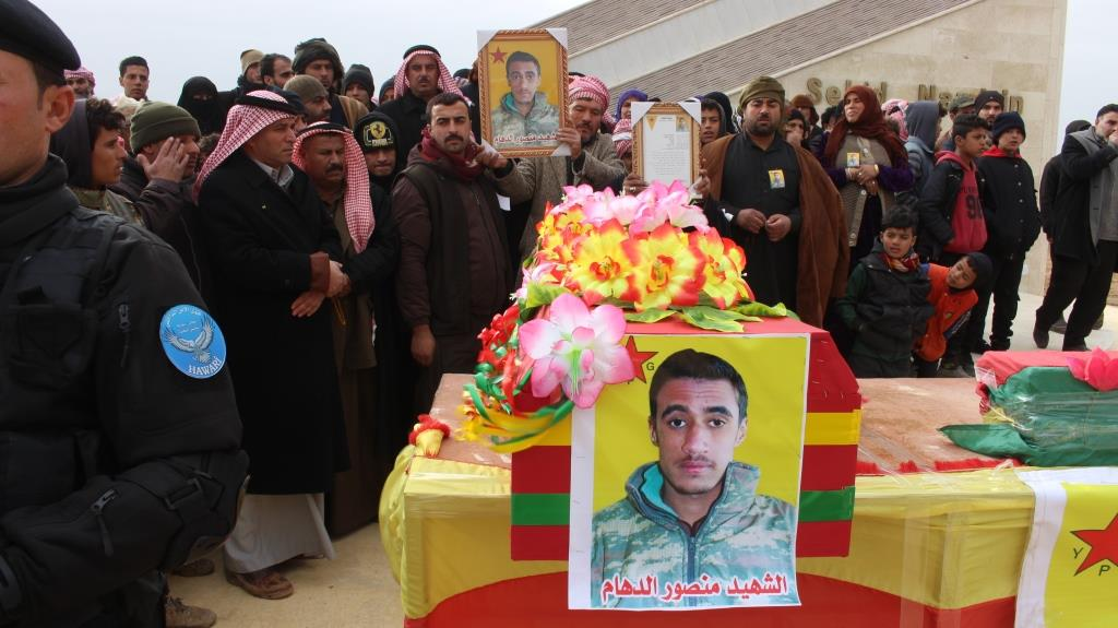 Tal Hamis people pledged to follow martyr's path