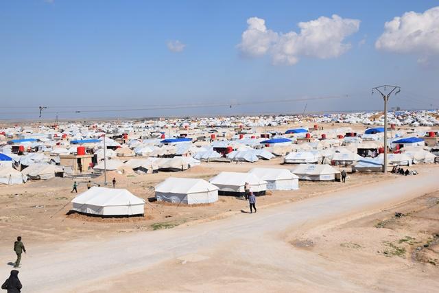 43,000 refugees, displaced people, IS mercenaries families living in al-Hol camp