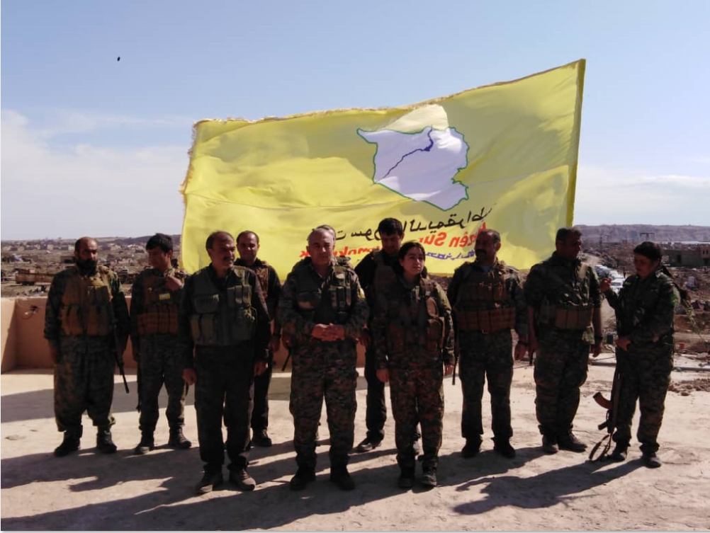 SDF liberated al-Bagouz from IS