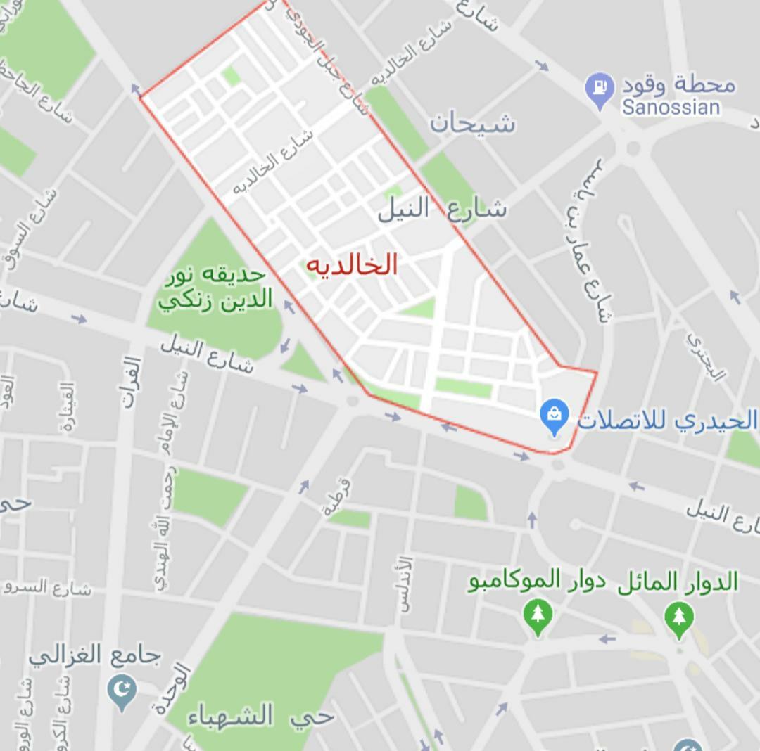 Civilian casualties in neighborhoods of Aleppo