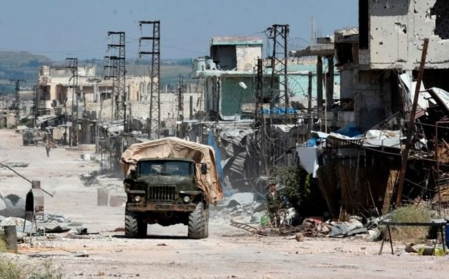 Regime forces regained control of Kfarabouda town