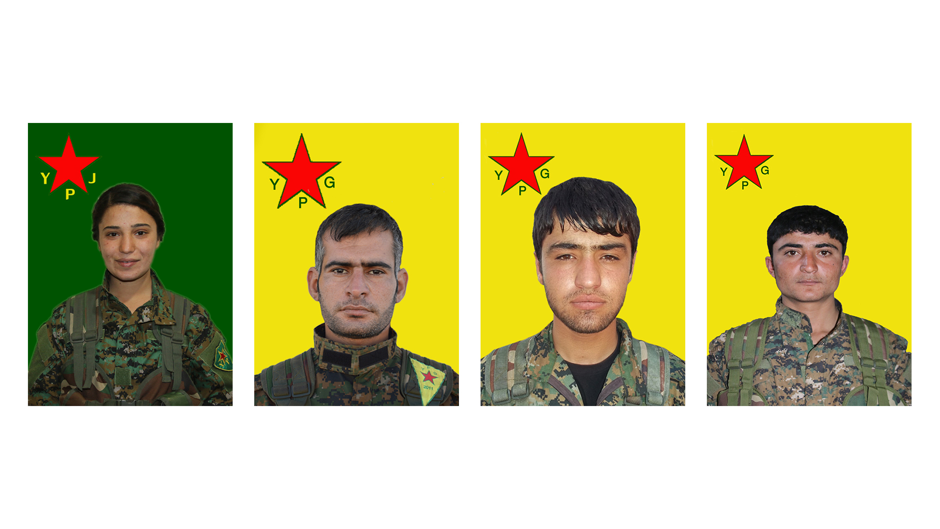 YPG reveals record of 4 fighters martyred in Serê Kaniyê, Afrin