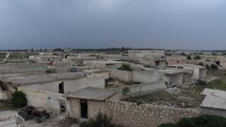 The destroyed village of Babens became a shelter for 2,184 families from Afrin