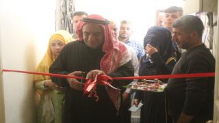 1st Turkmen 's association opened in Manbij
