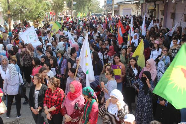 Derik's people: No to Turkey's threats against our regions
