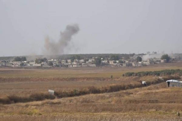 Mercenaries affiliated to occupation shell Shera villages