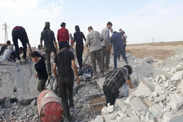 12 civilians' bodies raised from rubble in Mushrafa