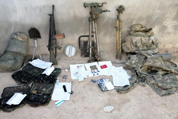 Documents found in Turkish occupation soldiers' corpses in Tel-Abyad