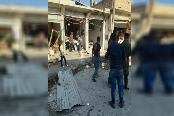 Explosion took place in al-Shaddadi