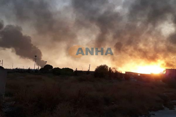 The mercenaries attacked Abed al-Hay village