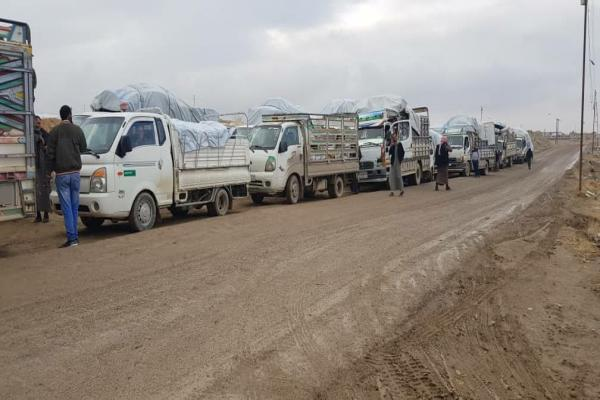 9th batch of return trips depart from al-Hol camp