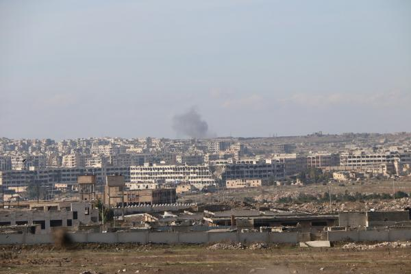 ​​​​​​​Russian warplanes bombed western countryside of Aleppo, mercenaries responded