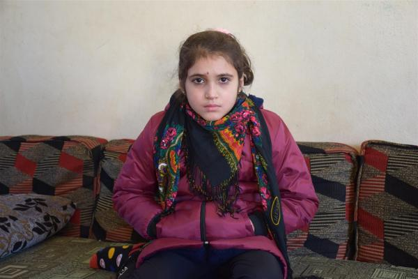 After 5 years of enslavement, Malika Yazidis attained her freedom