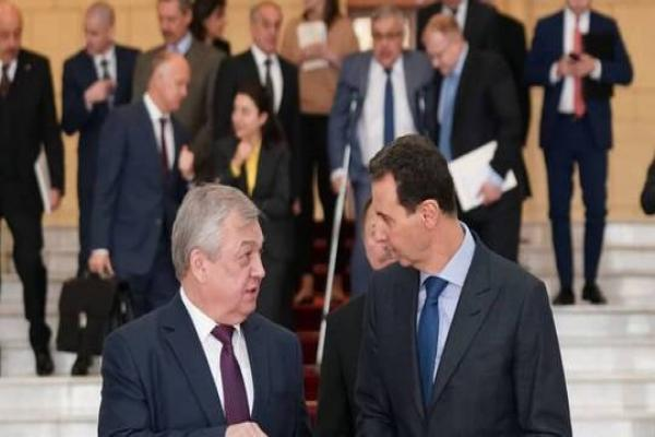 Russian officials discussed situation in Syria with al-Assad