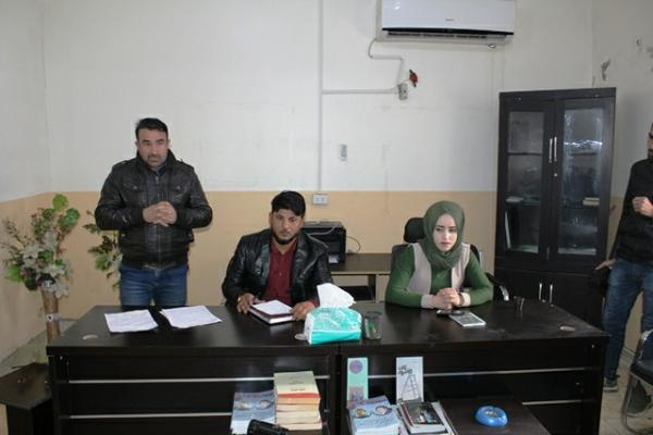 Lecture on international conspiracy against leader Ocalan in al-Shaddadi