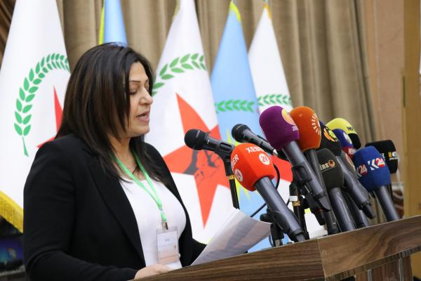 ​​​​​​​Amina Omar: PYD is able to undertake its partisan, struggle's duties of the people