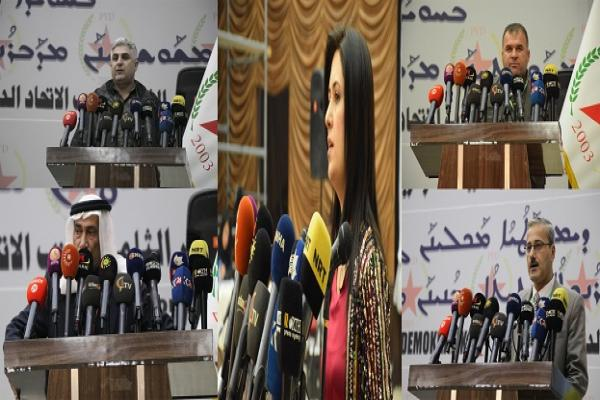​​​​​​​Delegates praise PYD's role in consolidating Autonomous Administration