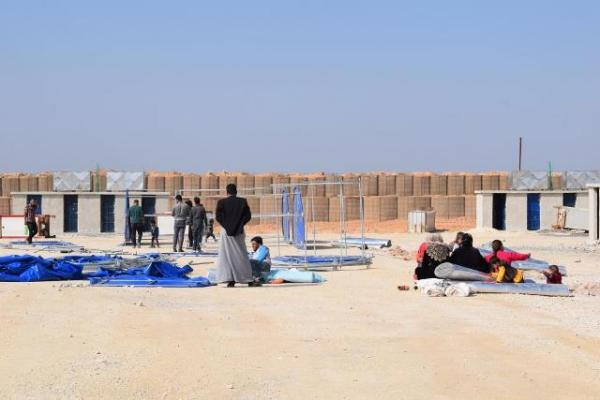 ​​​​​​​Preparing for second phase of constructing Gire Spi displaced camp