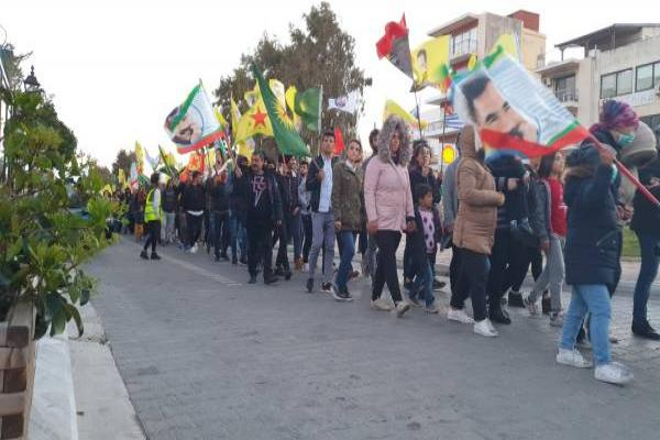 Actions for Öcalan in dozens of European cities