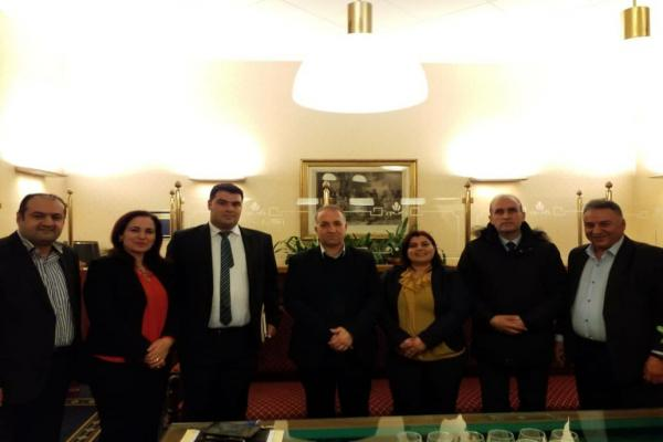 Geneva meeting stressed to support AA, its participation in international forums