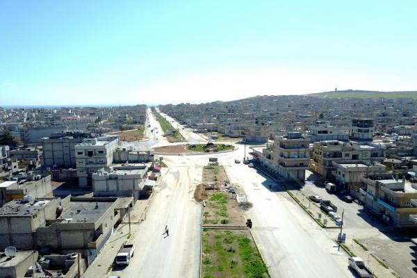 Covid-19 reduces pollution in Kobane