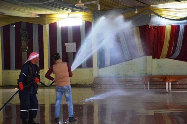 Two quarantine centers prepared in Tirbe Spiye district