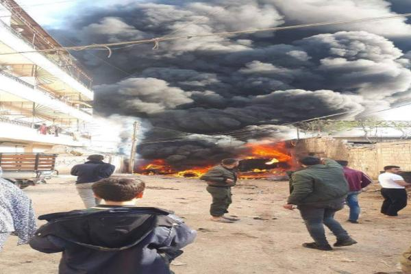 IED exploded in occupied Afrin