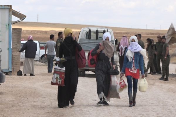 Girê Spi camp receives 365 displaced during Eid