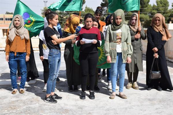 YWC calls on women's and humanitarian organizations to stand against Turkey's violations in Afrin