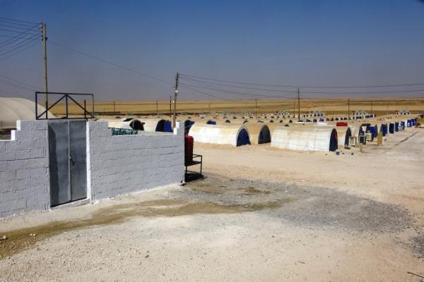 After stopping for more than 2 months ...   Girê Spî camp re-receives displaced