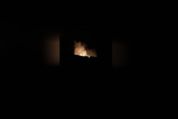 ​​​​​​​Turkish shelling burns civilians' homes in Tal-Tamr countryside