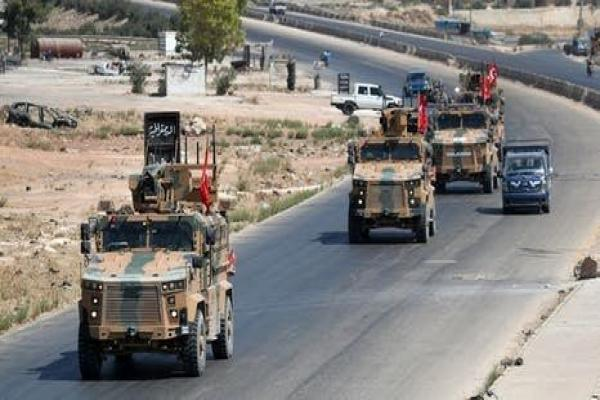New Turkish military reinforcements to Idlib