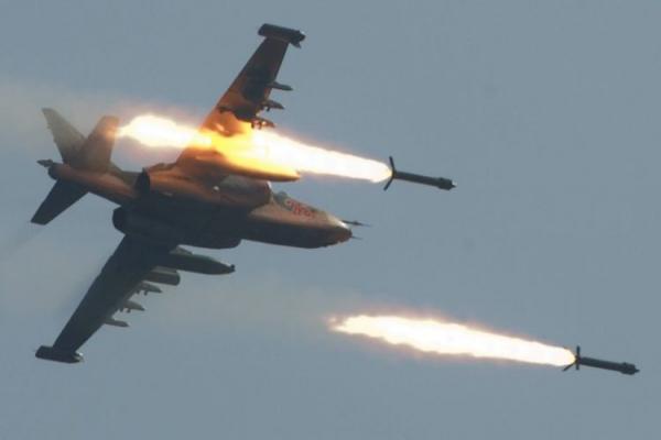 Russian jets step up attacks on Turkish mercenaries