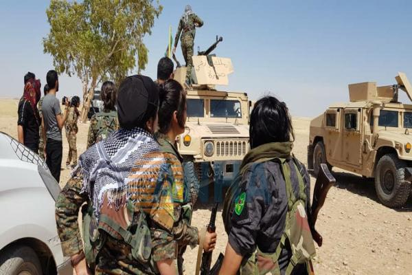 SDF's commander: campaign against ISIS cells came after increasing its activity