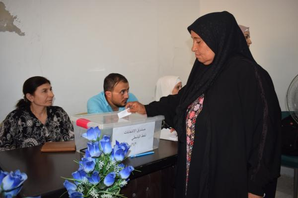 Co-chairs of civil councils' elections end in Manbij