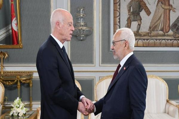 French magazine: A cold war in Tunisia between Saeed and Ghannouchi