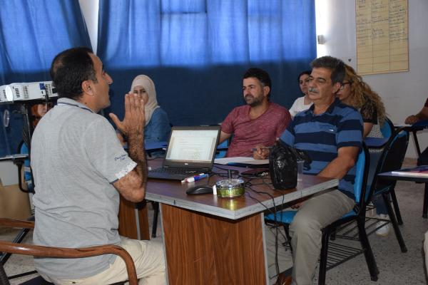 Martyr Agid Academy prepares staff for third secondary curriculum