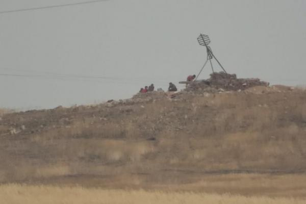 Occupation mercenaries remove tombstones to build military bases