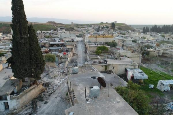 Hamzat mercenaries besiege Ferreiriya villages in Afrin's Janders