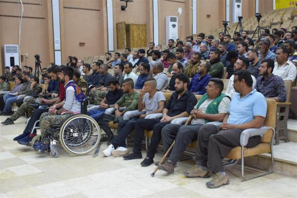 War-wounded in Qamishlo canton establish their own association