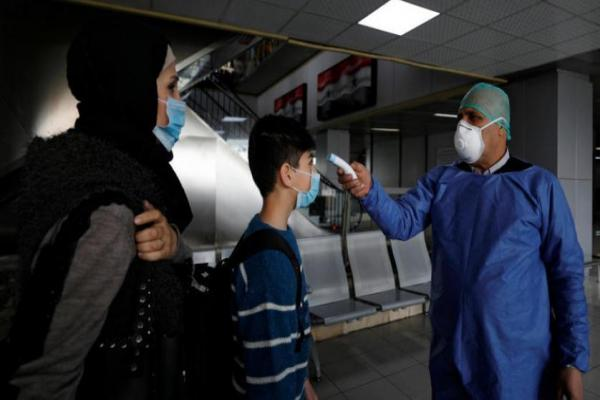 Syrian health records the highest numbers of coronavirus infections in one day