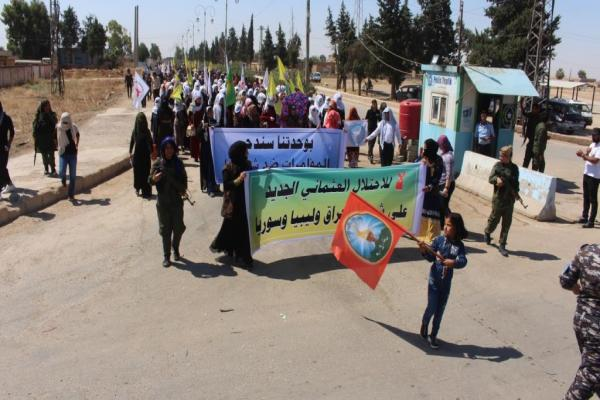 Thousands take to streets to decry occupation attacks, recall martyrs of resistance