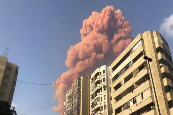 Huge explosion hits Lebanese capital, Beirut
